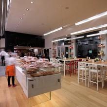 Interiér pekárny El Prestine
