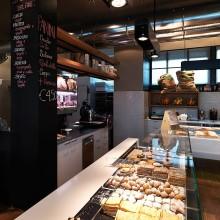 Interiér pekárny