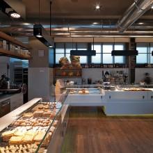 Interiér pekárny ...