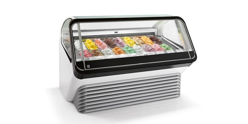 Vitríny na zmrzlinu IFI